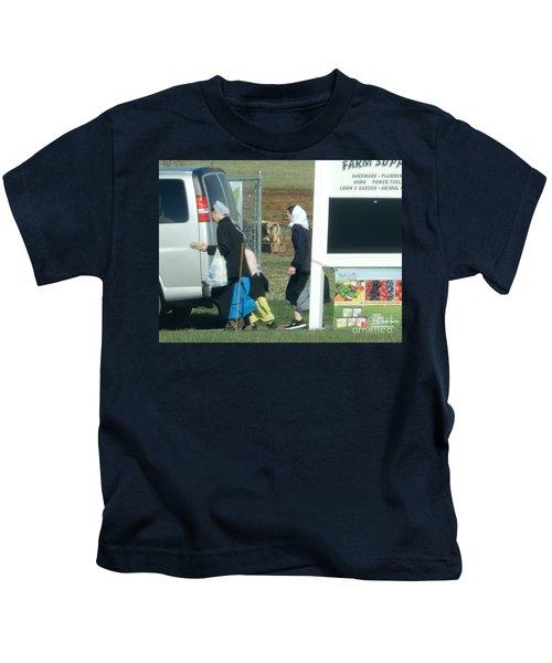 Amish Auction Kids T-Shirt