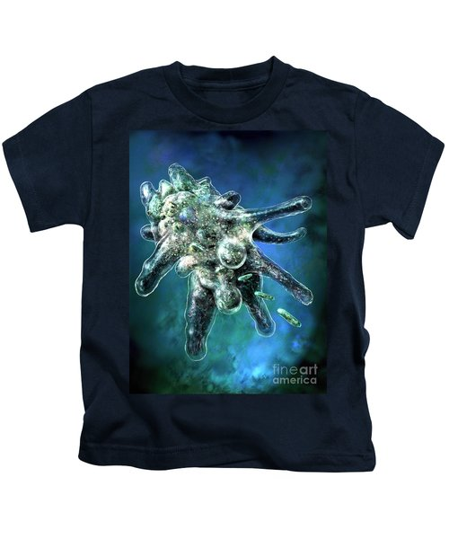 Amoeba Blue Kids T-Shirt