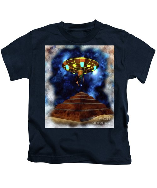 Ancient Aliens, Ufo In Egypt Kids T-Shirt