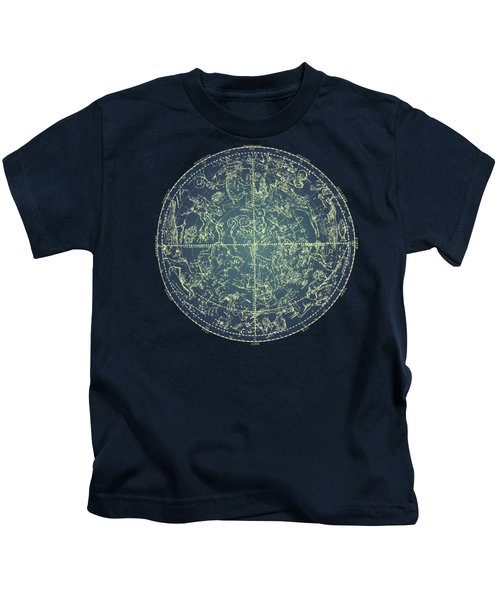 Antique Constellation Of Northern Stars 19th Century Astronomy Kids T-Shirt