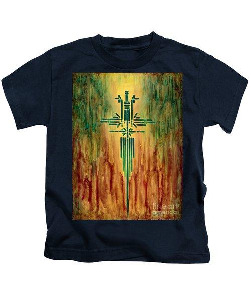 Archangel Michael Kids T-Shirt