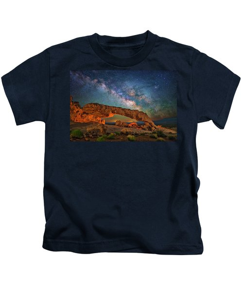 Arching Over The Arch Kids T-Shirt