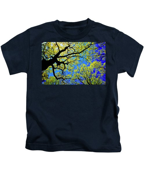 Artsy Tree Canopy Series, Early Spring - # 01 Kids T-Shirt