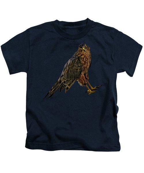 Cooper's Hawk No.32 Kids T-Shirt
