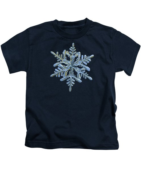 Snowflake Macro Photo - 13 February 2017 - 1 Alt Kids T-Shirt