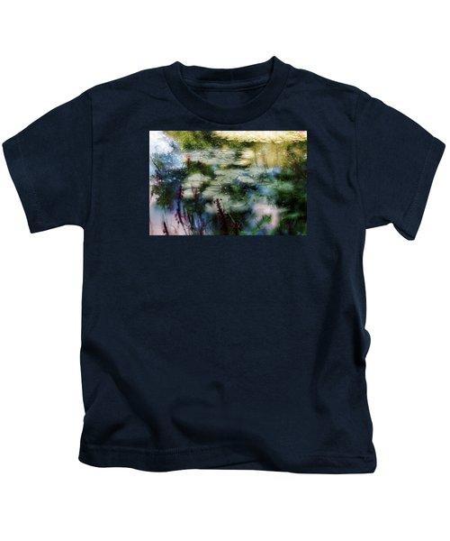 At Claude Monet's Water Garden 2 Kids T-Shirt