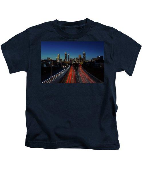 Atlanta Skyline 1 Kids T-Shirt