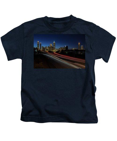 Atlanta Skyline 2 Kids T-Shirt