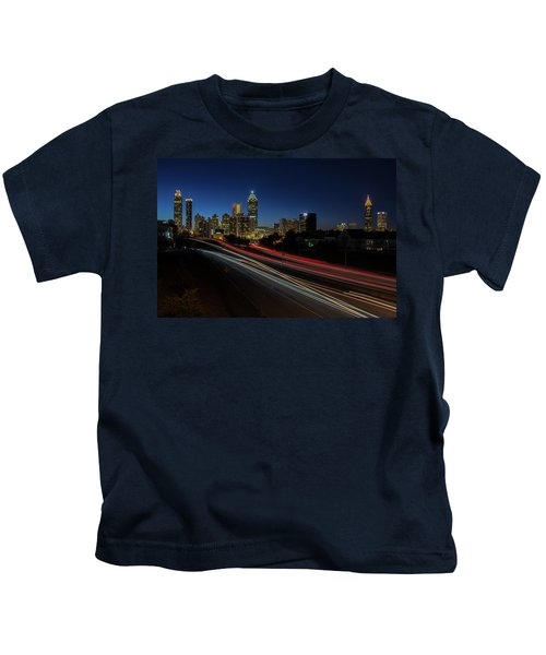 Atlanta Skyline 2 Kids T-Shirt