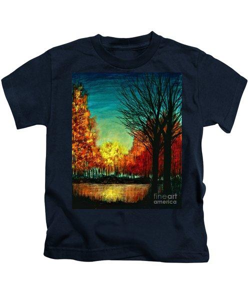 Autumn Silhouette  Kids T-Shirt