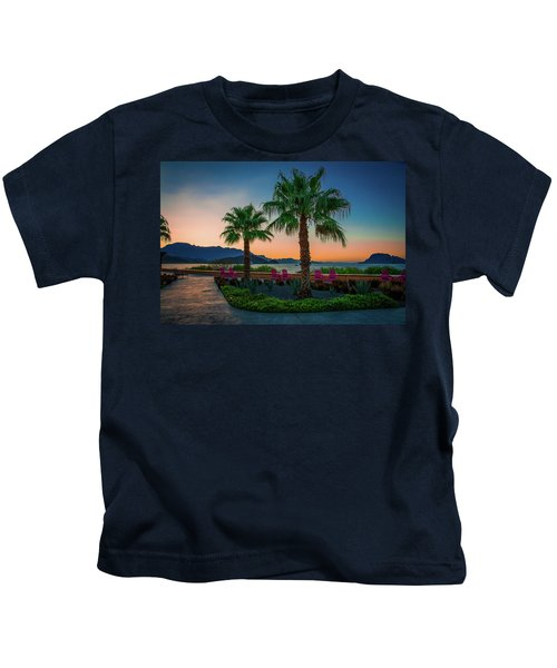 Baja Sunset Kids T-Shirt