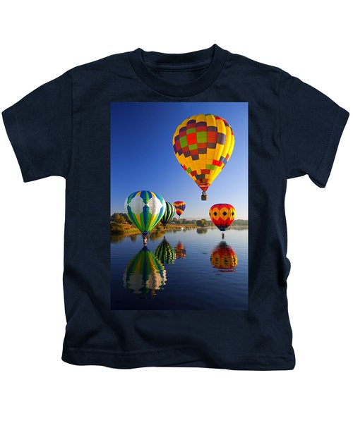 Balloon Reflections Kids T-Shirt