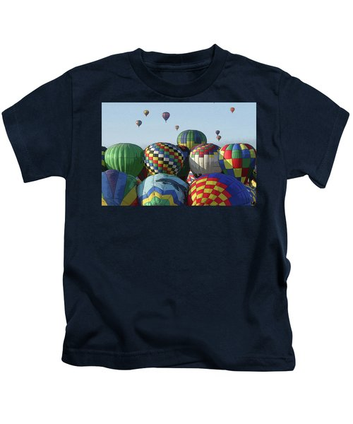 Balloon Traffic Jam Kids T-Shirt