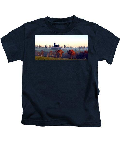 Barn And Silo 3 Kids T-Shirt