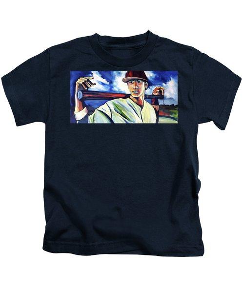 Baseball Crucifix Kids T-Shirt