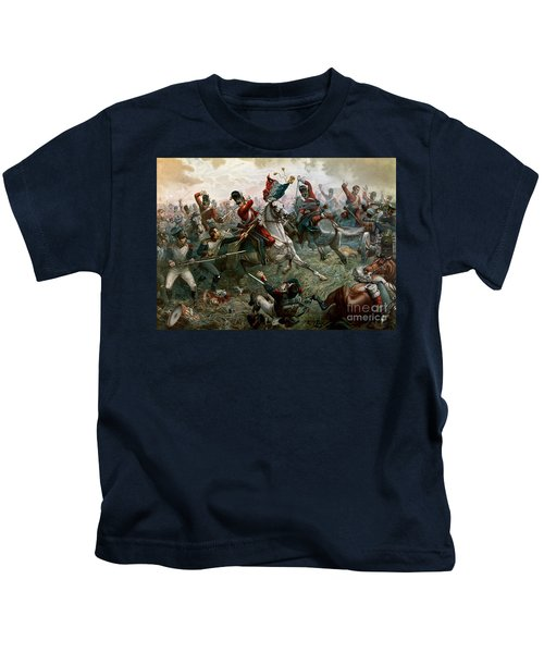 Battle Of Waterloo Kids T-Shirt