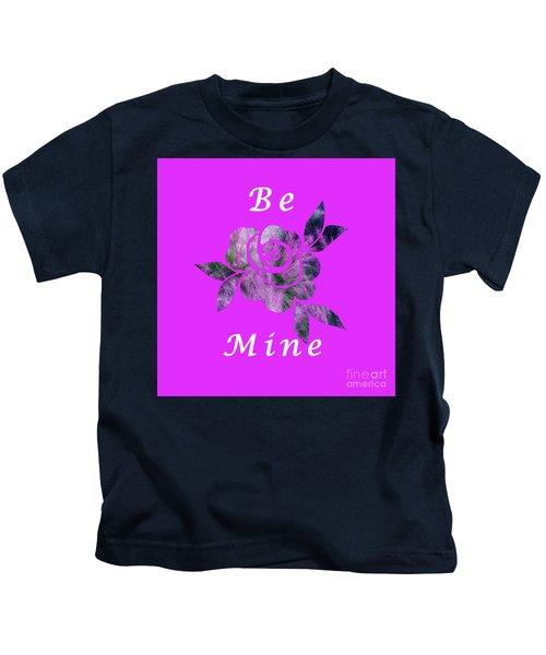 Be Mine Flower Kids T-Shirt