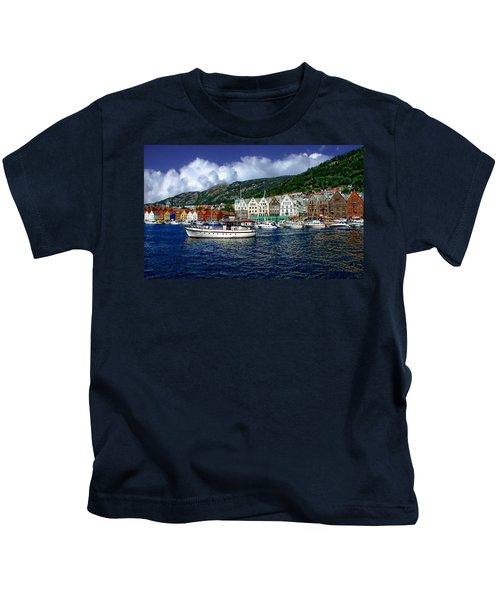 Bergen - Norway Kids T-Shirt
