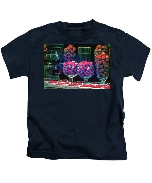 Berries In The Window Kids T-Shirt