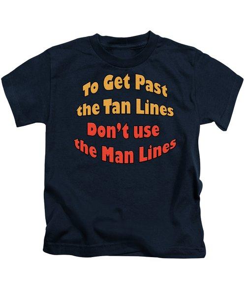 Between The Lines Kids T-Shirt