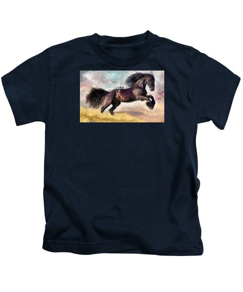 Black Beauty Kids T-Shirt