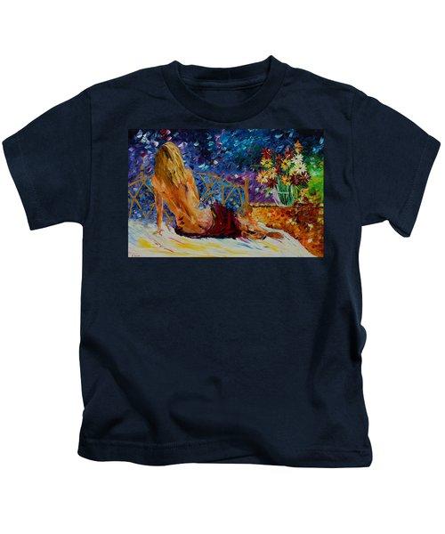 Blonde Beauty Kids T-Shirt