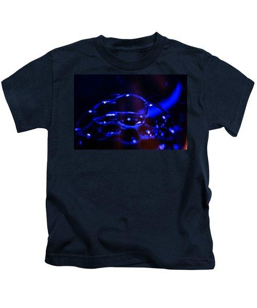 Blue Bubbles Kids T-Shirt