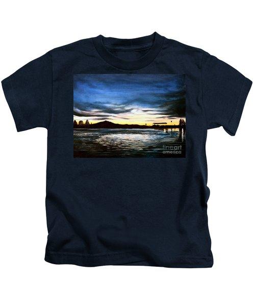 Blue Diablo Kids T-Shirt
