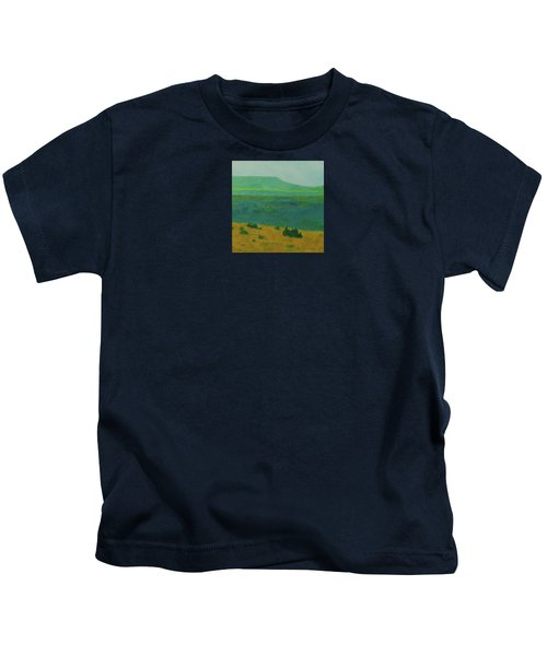 Blue-green Dakota Dream, 2 Kids T-Shirt