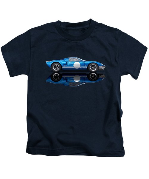 Blue Reflections - Ford Gt40 Kids T-Shirt