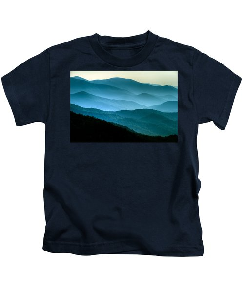Blue Ridges Kids T-Shirt
