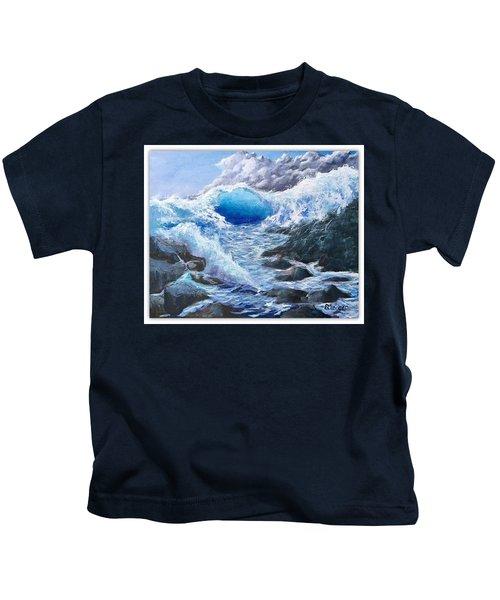 Blue Storm Kids T-Shirt