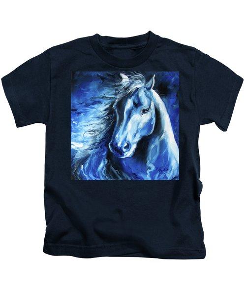 Blue Thunder  Kids T-Shirt