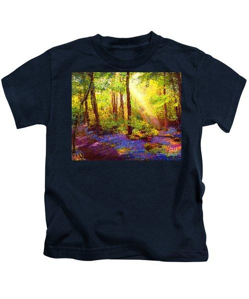 Bluebell Blessing Kids T-Shirt