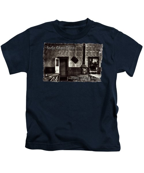 Bodie Hotel Dining Room With Pool Table Kids T-Shirt