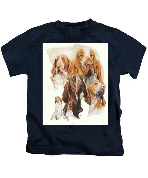Bracco Italiano Medley Kids T-Shirt