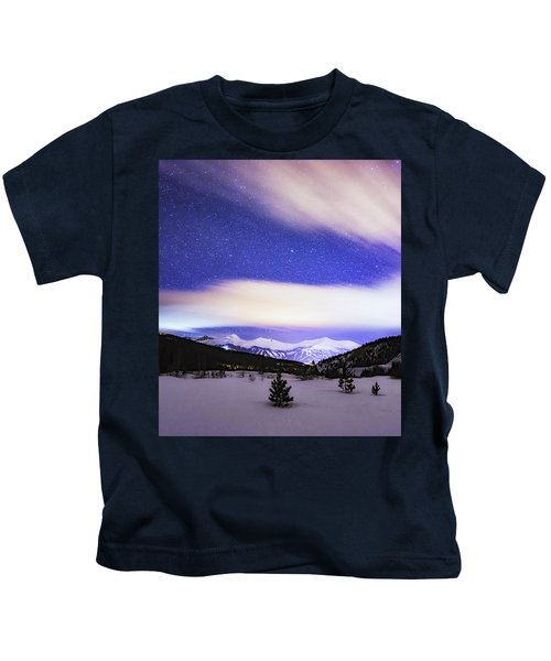 Breckenridge Blues  Kids T-Shirt
