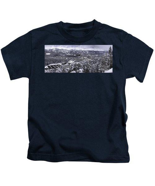 Breckenridge Ski Area Kids T-Shirt