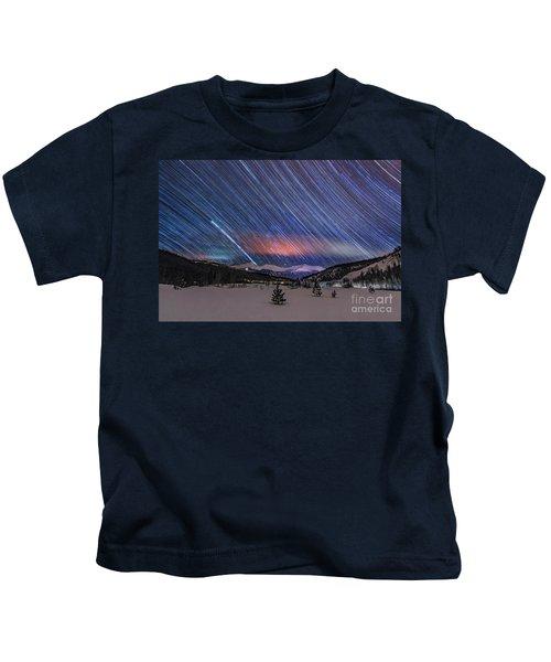 Breckenridge Trails  Kids T-Shirt