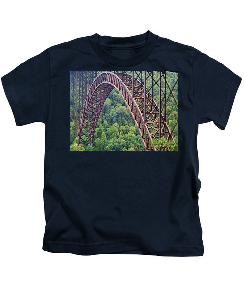 Bridge Of Trees Kids T-Shirt