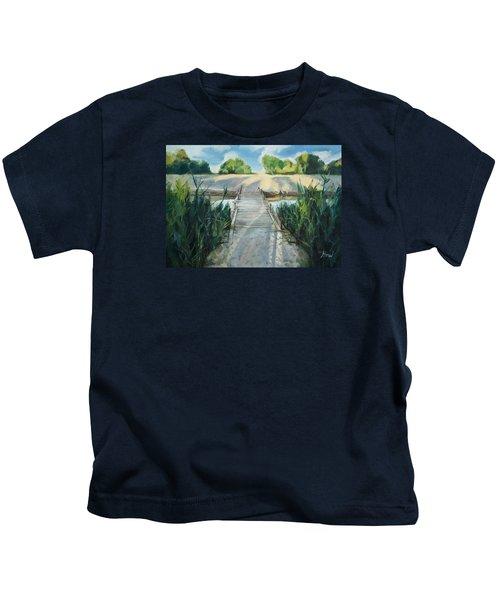 Bridge To Beach Kids T-Shirt