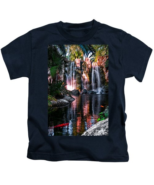 Bright Waterfalls Kids T-Shirt