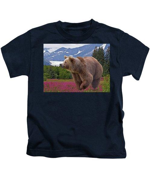 Brown Bear 2 Kids T-Shirt