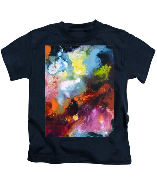 Burst Of Light Three Of Three Kids T-Shirt