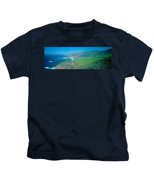 Cabrillo Highway On The California Kids T-Shirt