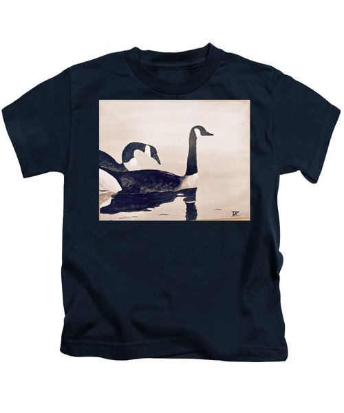 Canada Geese Kids T-Shirt