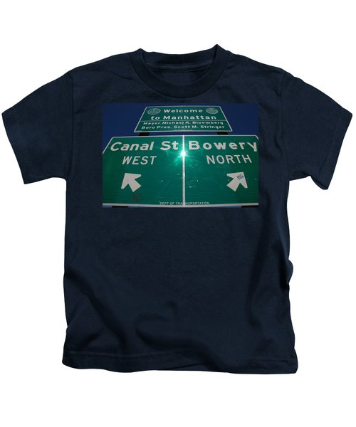 Canal And Bowery Kids T-Shirt