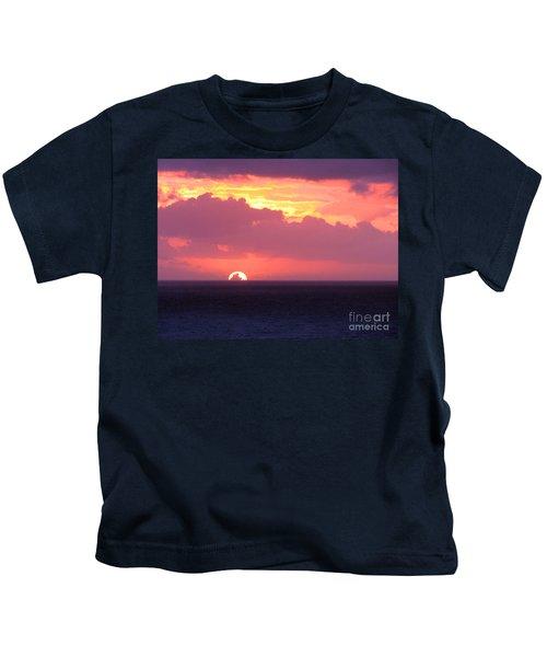 Sunrise Interrupted Kids T-Shirt