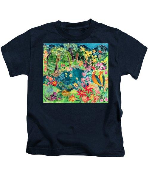 Caribbean Jungle Kids T-Shirt