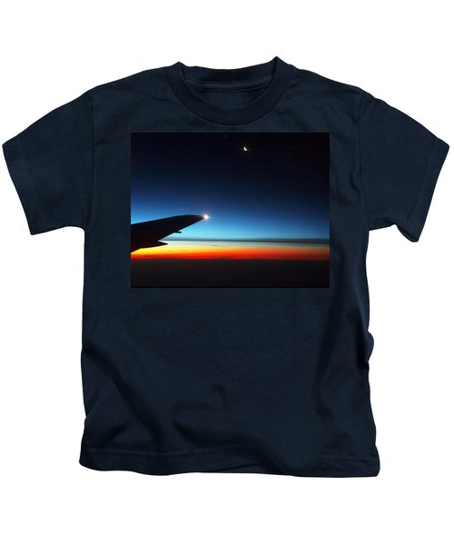Carolina Sunrise Kids T-Shirt
